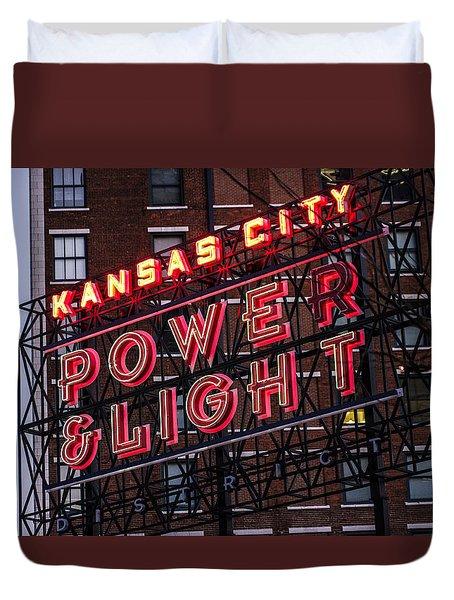 Kc Power And Light Duvet Cover