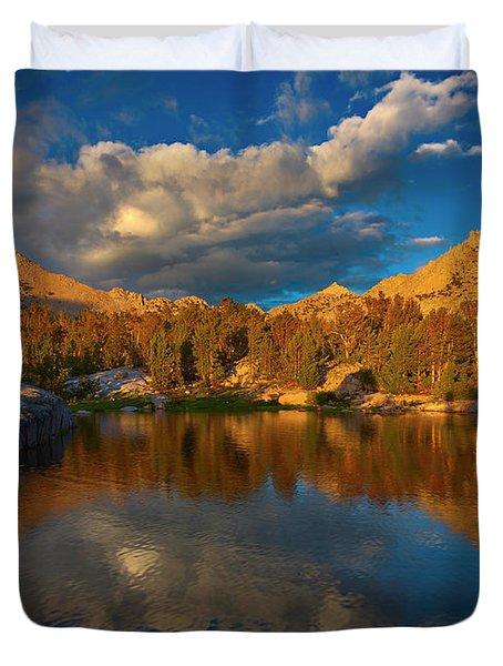 Kearsarge Lakes II Duvet Cover