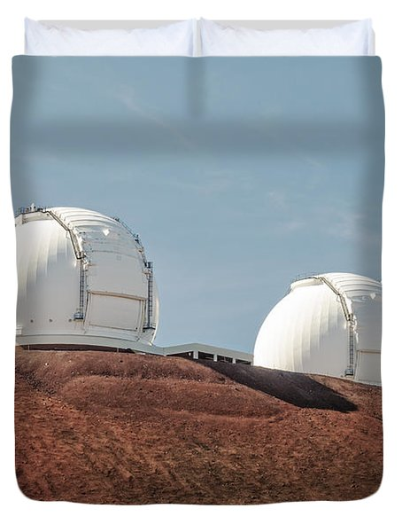 Keck 1 And Keck 2 Duvet Cover