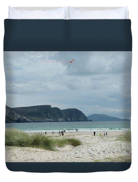 Keel Beach Achill  Duvet Cover