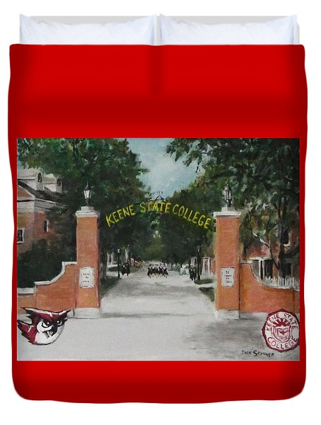 Keene State College Duvet Cover