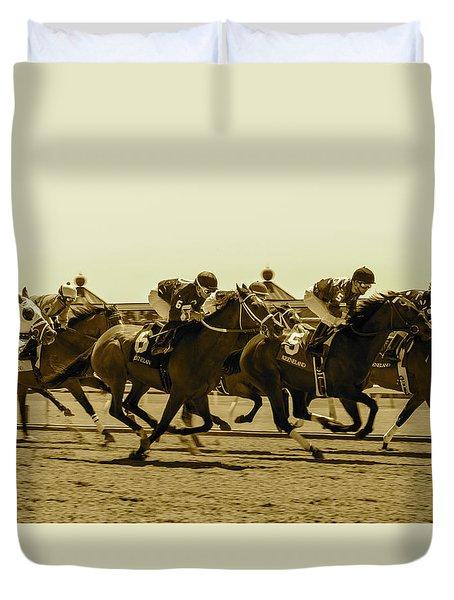 Keenland Sepia Duvet Cover