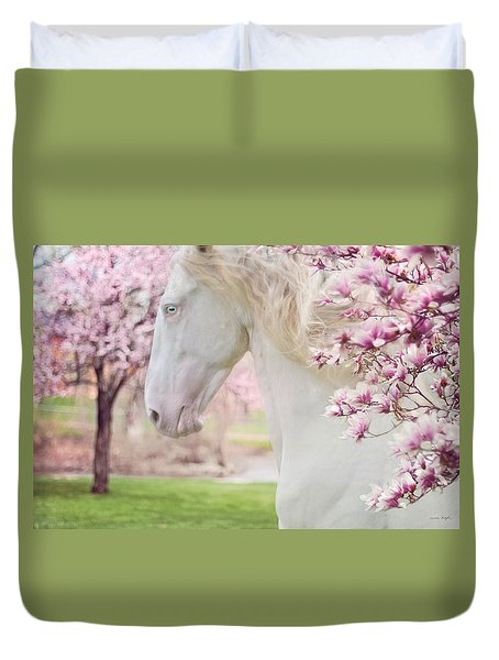 Keep Calm Spring Is Coming Duvet Cover