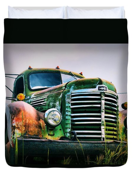 Keep On Trucking Duvet Cover