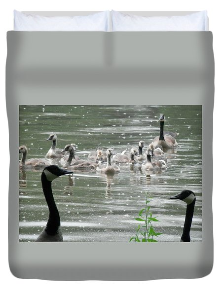 Keepers Of The Gate Duvet Cover