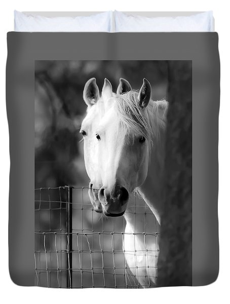 Duvet Cover featuring the photograph Keeping Their Eyes On Us D3126 by Wes and Dotty Weber
