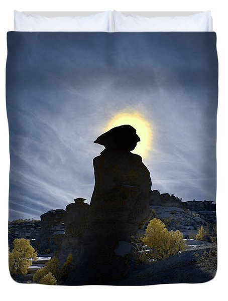 Keeping Watch Duvet Cover