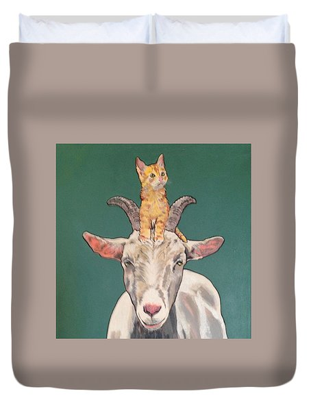 Keira The Kitten Duvet Cover