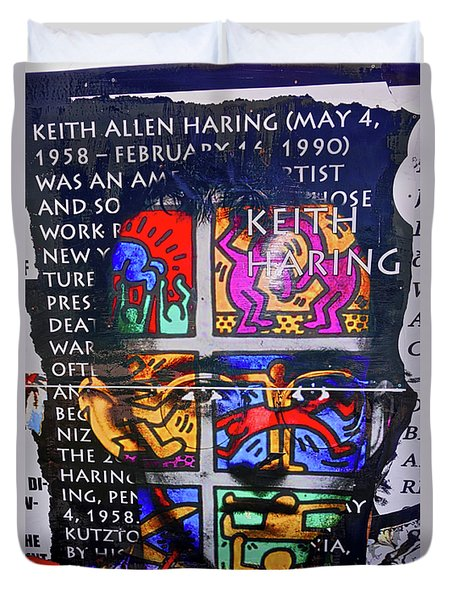 Keith Haring  Duvet Cover