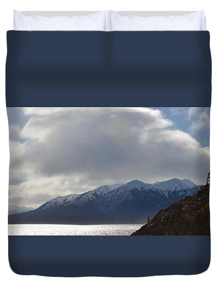 Kenai Peninsula Duvet Cover