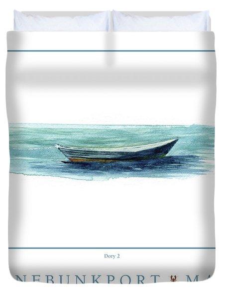 Kennebunkport Dory 2 Duvet Cover