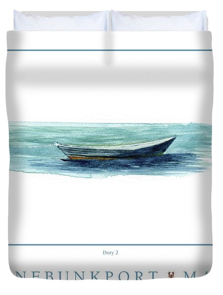 Kennebunkport Dory 2 Duvet Cover