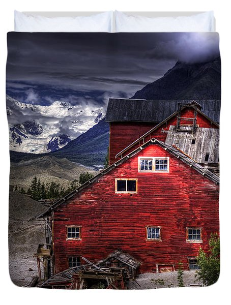 Kennecott Mine  Duvet Cover