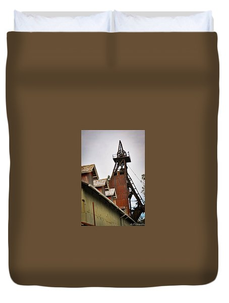 Kennedy Mine Headframe Duvet Cover