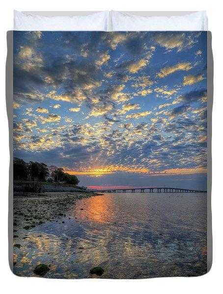 Kennedy Park Sunrise Duvet Cover