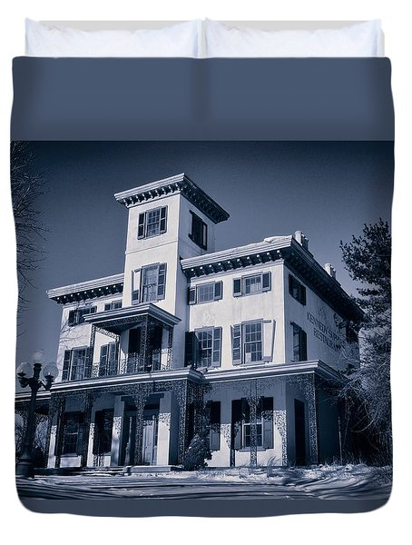 Kennedy-supplee Mansion Duvet Cover