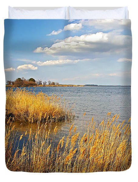 Kent Island Duvet Cover by Brian Wallace