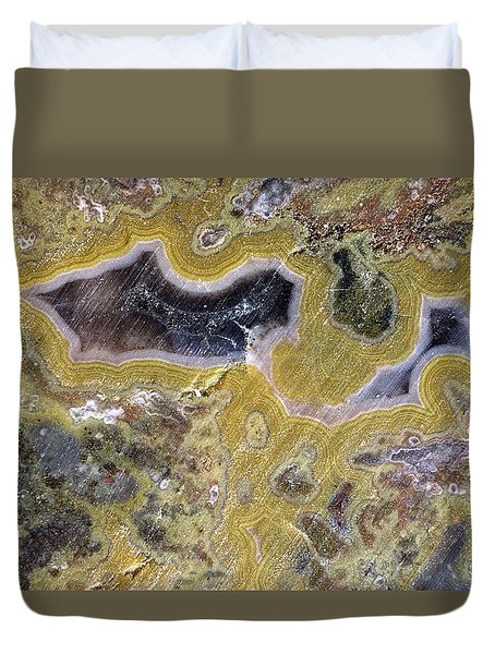 Kentucky Agate Duvet Cover