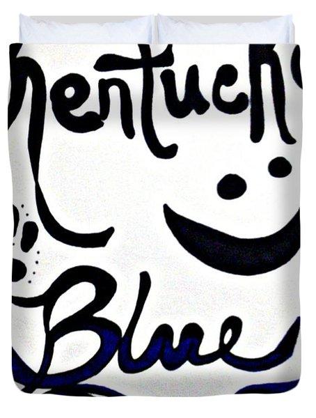 Kentucky Blue Duvet Cover