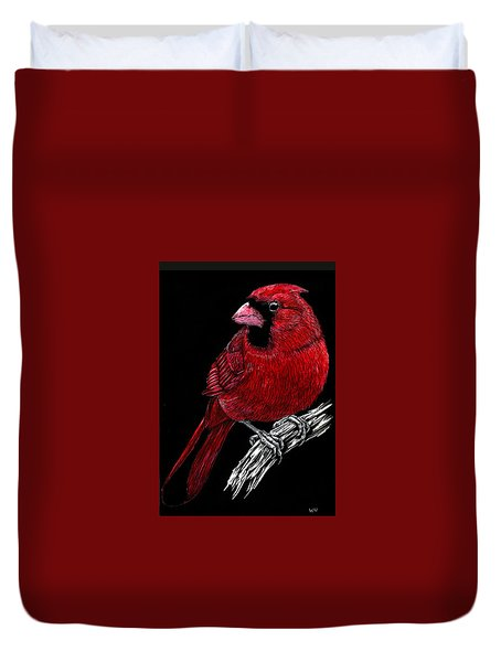 Kentucky Cardinal Duvet Cover