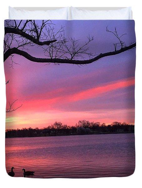 Kentucky Dawn Duvet Cover