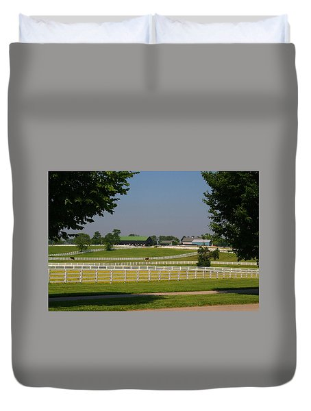 Kentucky Horse Park Duvet Cover