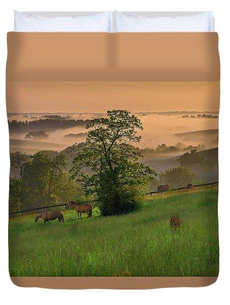 Kentucky Morning Duvet Cover