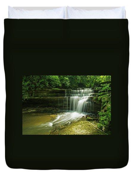 Kentucky Waterfalls Duvet Cover