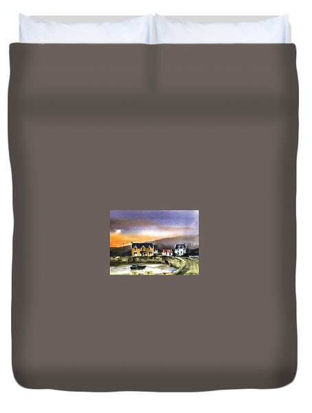 Kerry... Beara. Killmakilloge Harbour Duvet Cover