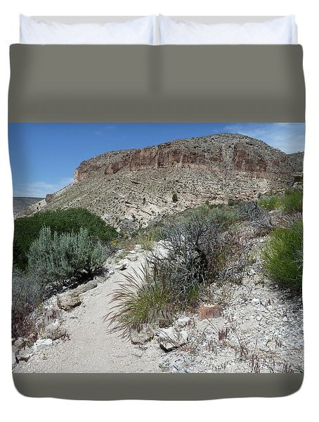 Kershaw-ryan State Park Duvet Cover by Joel Deutsch