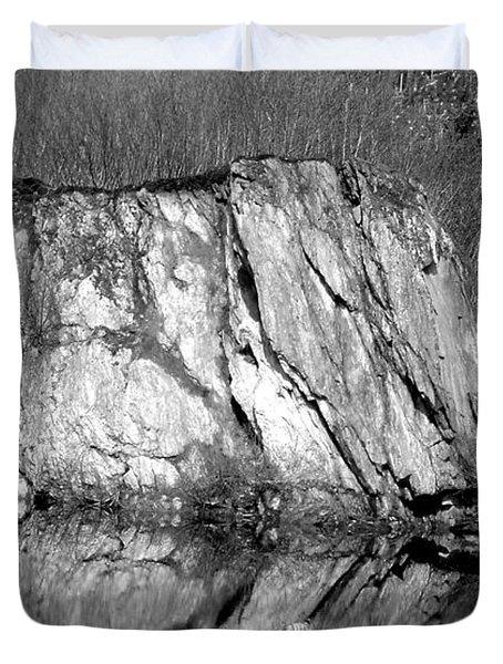 Ketchican Reflection Duvet Cover by Susan Lafleur