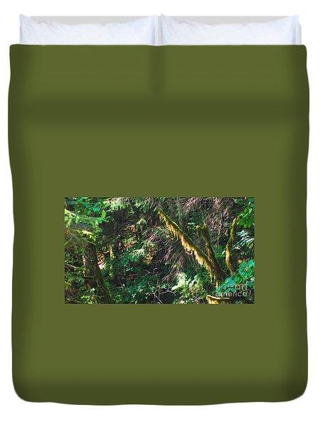 Ketchikan Green Duvet Cover