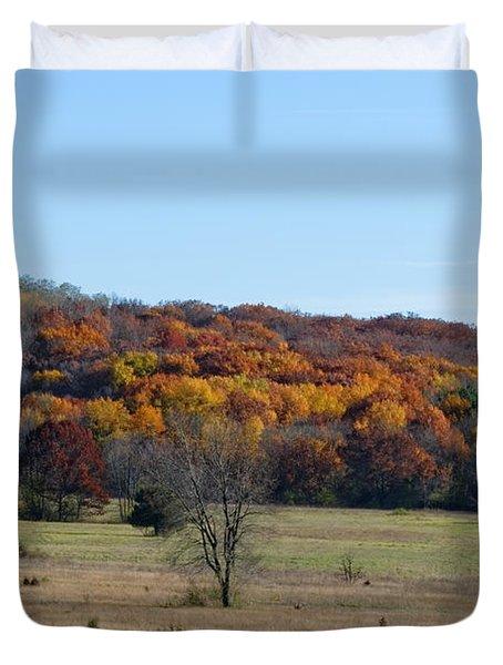 Kettle Morraine In Autumn Duvet Cover