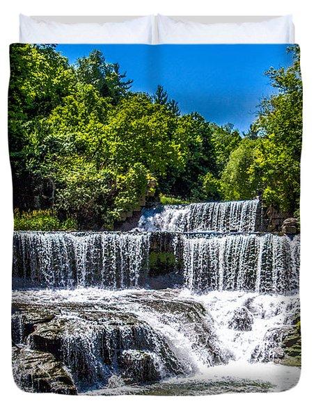 Keuka Outlet Waterfall Duvet Cover