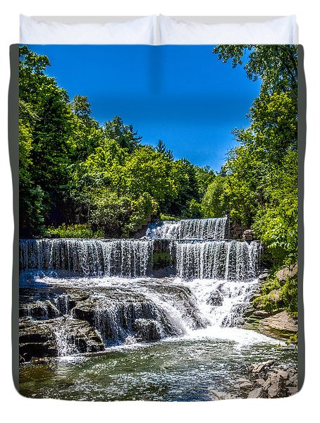 Keuka Outlet Waterfall Duvet Cover