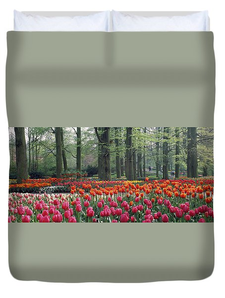 Keukenhof Garden, Lisse, The Netherlands Duvet Cover