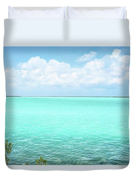 Key Colors Duvet Cover by Kathi Mirto