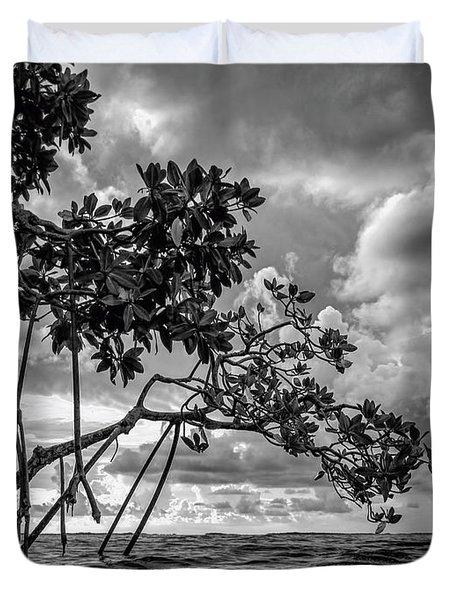 Key Largo Mangroves Duvet Cover