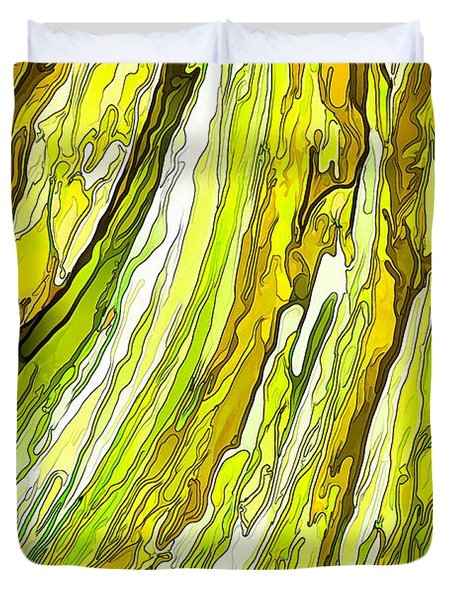 Key Lime Delight Duvet Cover by ABeautifulSky Photography