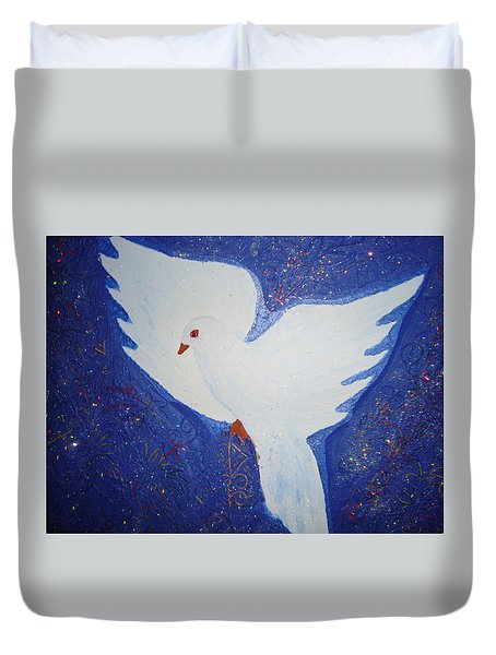Key To Happiness Duvet Cover