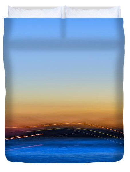 Key West Abstract Duvet Cover
