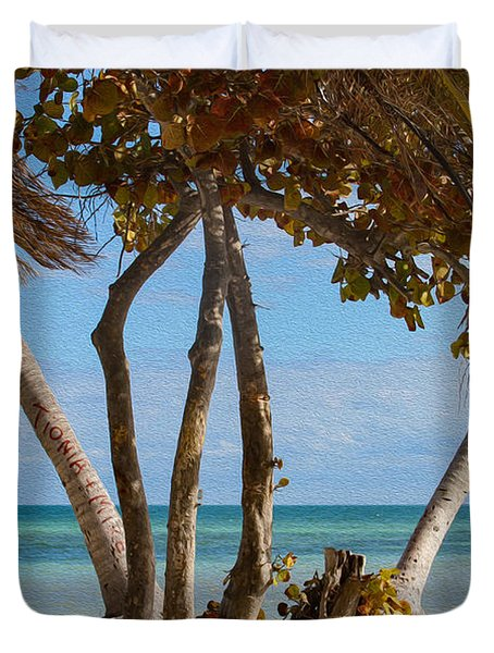 Key West Afternoon Duvet Cover