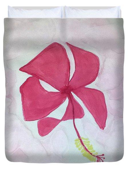 Key West Hibiscus Duvet Cover