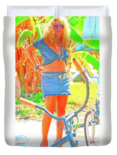 Key West Life Duvet Cover
