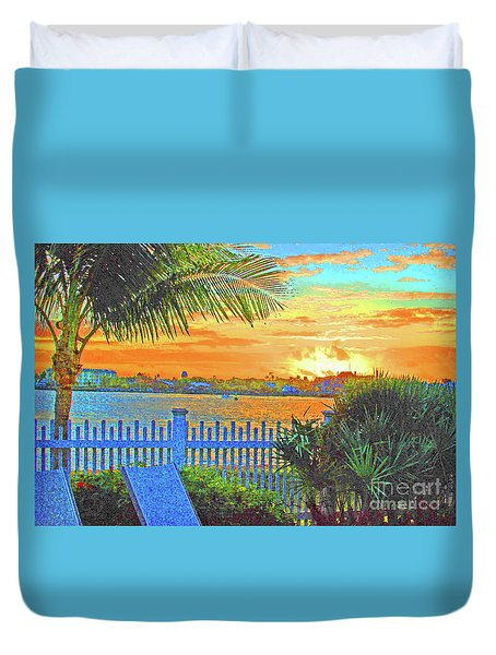 Key West Life Style Duvet Cover