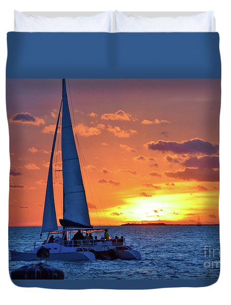 Key West Magic Duvet Cover