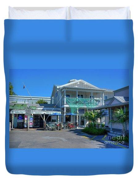 Key West Tackle Duvet Cover