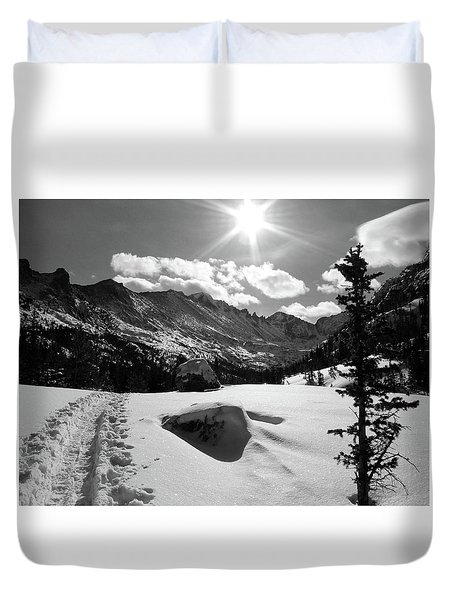 Duvet Cover featuring the photograph Keyboard Of The Winds by Silke Brubaker