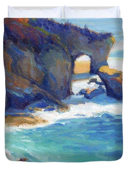 Arch At Treasure Island Duvet Cover