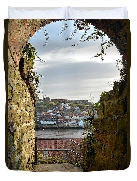 Keyhole View Duvet Cover